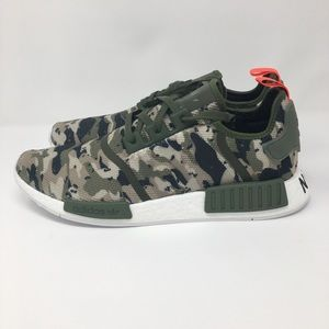 94b2f1c663dd9 adidas Shoes - Adidas NMD R1 Solar Red Camo Mens G27914